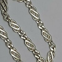 Solid sterling silver 925 bangle bracelet Bz488 celtic knot kernow cornish
