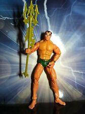 "Marvel Legends Showdown NAMOR SUB-MARINER universe 3.75"" nice toy biz used"