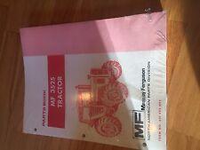 Massey Ferguson Tractor Parts Book Catalog Manual Mf 3525 Series