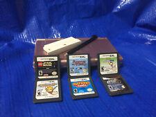 Nintendo DS Lite Grey with six games, GamePak plug and Stylus