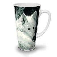 White Wolf Look NEW White Tea Coffee Latte Mug 12 17 oz | Wellcoda
