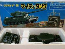 Vintage 80's Tomy Taiyo  R/C Military Mighty Tank NMIB Nikko Tyco Kyosho Tamiya