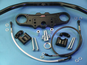 Abm Superbike Handlebar Kit Suzuki TL 1000 S (Ag) 97-ff Black