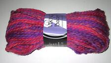 Lot of 10 skeins Pink Purple Viking Balder 100% superwash chunky wool yarn #465
