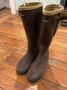 Filson le Chameau Lined Rubber Boots - Size 43 Mens