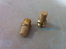 5pcs Pneumatic Filter Silencer Sintered Bronze 3/8