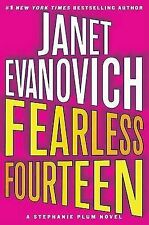 New FEARLESS FOURTEEN Janet Evanovich STEPHANIE PLUM BOOK 14 Oz Seller Tracking