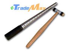 Combo Steel Ring Band Mandrel Stick & Dual Head Hammer