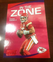"""2020 Score (In The Zone) Patrick Mahomes """"RED Parallel"""" K.C. Chiefs MVP  """"WOW"""""""