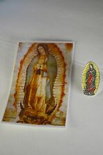 Our Lady of Guadalupe Pin Brooche Virgen Maria de Guadalupe Catholic Religious