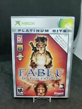 Fable The Lost Chapters Xbox Platinum Hits Game game w/ case