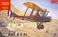 Roden 426 - 1/48 - RAF BE 2c British reconnaissance aircraft WWI