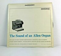 The Sound Of An Allen Organ By Various Organists LP Record Columbia Records