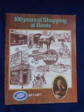 100 years of Shopping at Boots 1877 1977