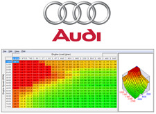 Audi fichiers Chip Tuning ECU, Original + Stage 1,2,3... Reprogrammation.