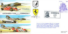 CC38b Italie Formule 1 Ferrari Brabham vs avion course F1 signé cover