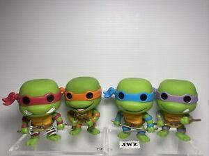 4x Funko Pop Vinyl - Teenage Mutant Ninja Turtles - NO BOX