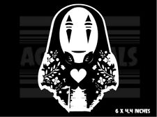 Spirited Away - No Face - Love- Ghibli - Anime - Vinyl decal sticker