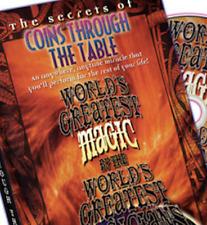 Coins Through Table (World's Greatest Magic)
