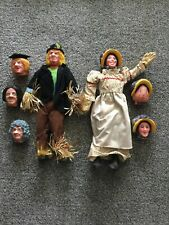 Worzel Gummidge & Aunt Sally Dolls & Extra Heads