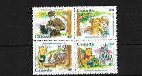 CANADA SG1701/4, 1996 WINNIE THE POOH MNH