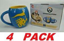 BLIZZARD World Of Warcraft Overwatch Coffee Mug Murloc Logo (4 PACK)       -NEW-