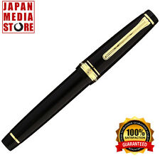 Sailor Professional Gear Black GT 21K Gold Medium Point Fountain Pen 11-2036-420