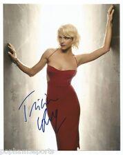 TRICIA HELFER Signed/Autographed 8x10 Photo BATTLESTAR GALACTICA, CYLON 6 w/COA