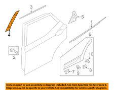 HYUNDAI OEM 13-15 Santa Fe Exterior-Rear-Applique Window Trim Right 832602W000
