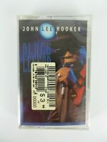 Vintage NEW John Lee Hooker Blues Legend Cassette Tape Blues Sealed