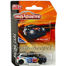 MAJORETTE 4009MJ2 RACING CARS VW POLO R WRC 1/57 - 1/64 RED BULL WHITE BLUE