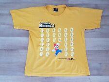 Nintendo 3DS Super Mario Bros 2 T-Shirt Men's M