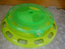 New listing Love Pets Cat Turntable Toy & Feeding Dish