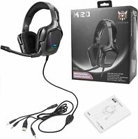 K20 Gaming Headset with Mic for Xbox One, PS4, Switch and PC, Surround Sound NEW