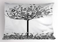 Tree of Life Pillow Sham Decorative Pillowcase 3 Sizes for Bedroom Decor