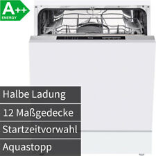Amica 60 cm Einbau Geschirrspüler vollintegrierbar Spülmaschine AquaStop A++ NEU