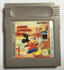 Mickey's Dangerous Chase - Nintendo Game Boy GB Capcom GameBoy - ESP