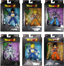 Dragon Stars Series 1 & 2 Action Figure Set ~ Goku, Vegeta, Beerus, BAF Shenron+