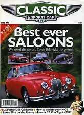 Classic & Sports Car (April 1999) XJ6, BMW M5, MGB, MR2 v Honda CRX, Ferrari 365