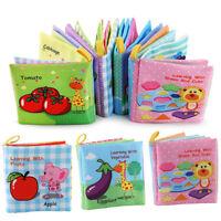 As _ Niño Bebé Inteligencia Desarrollo Paño Cama Libro Sensorial Educativo Toy