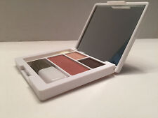Clinique All About Eye Shadow Duo:Morning Java/sunset / Blusher Fig with Brush