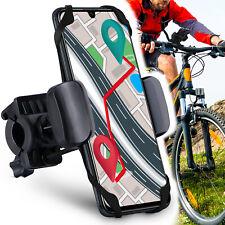 Moex 360°Soporte Bicicleta para Samsung A/J Serie Manillar Soporte Móvil de