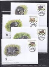 Guinea 2009 - FDC - Dieren / Animals / Tiere  (WWF / WNF)