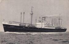 Postcard Holland America Line Ship SS Schiedyk