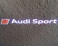 Audi A5 8T original Audi Sport Einstiegsleuchten Einstiegsbeleuchtung Leuchten