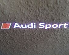 Audi A6 4F original Audi Sport Logo LED Einstiegsleuchten Leuchten S6 C6 RS6