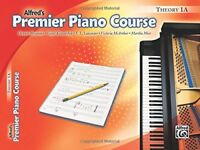 Premier Piano Course Theory, Bk 1A Alfreds Premier Piano Course