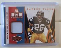 2020 Plates And Patches Football Canton Cloth Patch 75/75 Rod Woodson Steelers