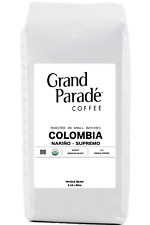 Organic Colombian Supremo Medium Roast, Fresh Roasted Coffee Beans, 5 LBS Bag
