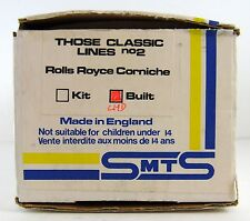 SMTS SCALE MODELS #2 ROLLS ROYCE CORNICHE  1:43 (BOX ONLY)